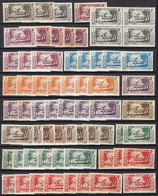 ETS OCEANIE 1939 neufs ** MNH  cote 77€  french colonies oceania