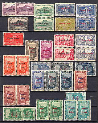 REUNION 1943  France libre  neufs ** MNH cote 65€ DOM  french colonies