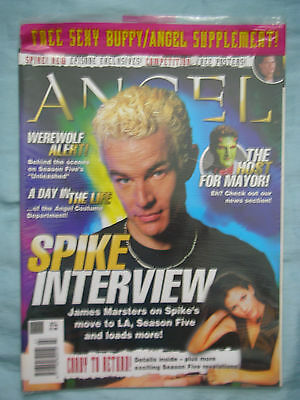 Official UK Angel Magazine # 7 - Feb 2004 spin-off from Buffy the Vampire Slayer