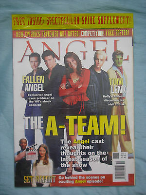 Official UK Angel Magazine # 10 - May 2004 spin-off of Buffy the Vampire Slayer
