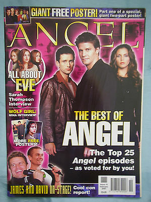 Official UK Angel Magazine # 19 - Feb 2005 - Buffy the Vampire Slayer spin-off