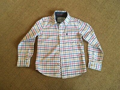 Joules Boys Checked Shirt Age 7