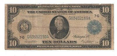 1914  Ten Dollar  Federal Reserve Note  Chicago, Illinois
