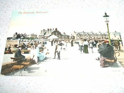 POSTCARD - The Esplanade, Porthcawl - 1915