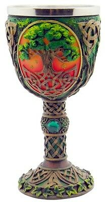 Medieval Tree Of Life - Chalice/Wine Goblet
