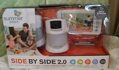Summer Infant 5 inch Side By Side 2.0 Video Baby Monitor - 29620 NIB