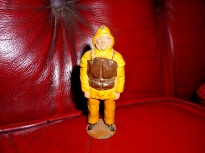 Vintage 1950's Britains Lead Lifeboat Man For The Rnli