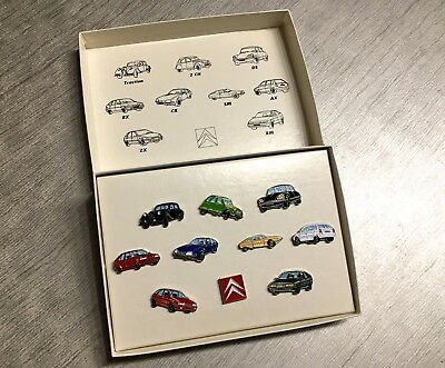 Collector - Coffret 10 Pin's CITROEN