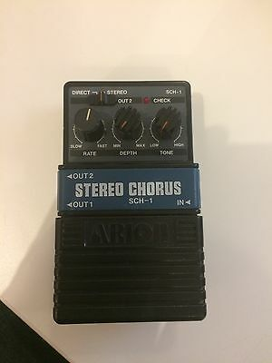 Vintage Arion SCG-1 Stereo Chorus Pedal Made in Japan