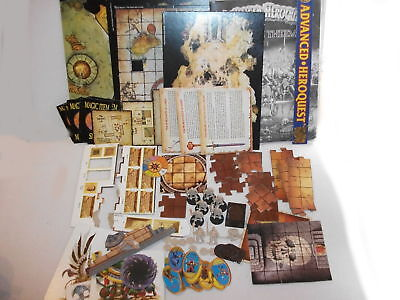 Advanced Heroquest Terror in the Dark job lot of parts for SPARES