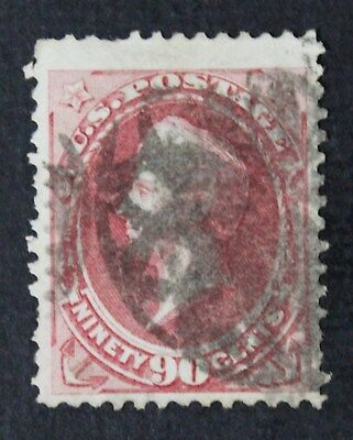 CKStamps: US Stamps Collection Scott#166 90c Perry Used CV$300