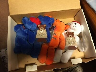 1999 Nolan Ryan beanie babies Express to Cooperstown COMPLETE SET