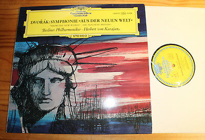 DVORAK From the New World KARAJAN LP DGG SLPM Tulip
