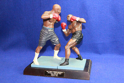 Mike Tyson Vs. Evander Holyfield Boxing Figurine Set LE 91/250
