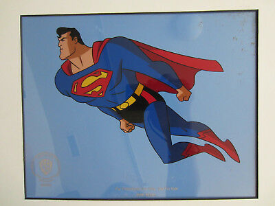 Warner Bros. Limited Edition Superman animation sericel
