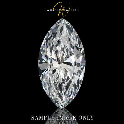 1.51ct Marquise Cut Loose Diamond GIA Certified I/SI2 + Free Ring (2176610999)