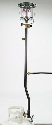 """Combo 30"""" Propane Distribution Tree Post With 5 Ft Appliance Hose - 3 Outlet"""
