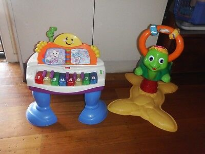 Fisher Price Laugh and Learn Baby Grand Piano & Vtech Turtle  Good Condition