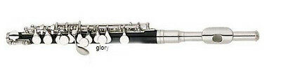 #4 New Black High-Grade Silver Plated Standard Musical Instruments Piccolo