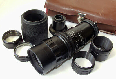 Dr. Weth Berlin Telestigmar 175-315mm/3.5-6.3 outfit with case