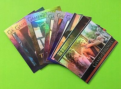 Game Of Thrones Season 4 - Parallel Hologram Base Cards X 9