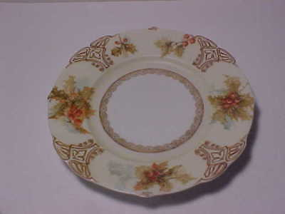 Old Ivory XVII Silesia Holly Plate 8 3/8""
