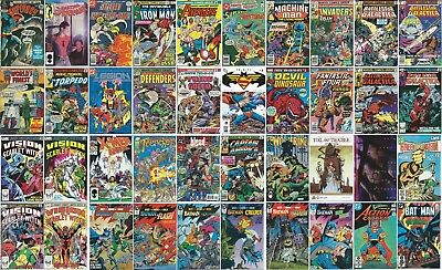 LOT of 40 COMIC BOOK COLLECTION (Bronze Copper Modern)  Avengers 117 Neal Adams