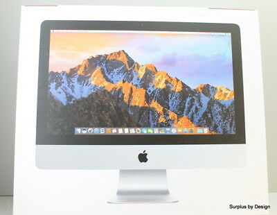 "**New Open Box** Apple 21.5"" iMac with Retina 4K display MNE02LL/A All-in-One De"