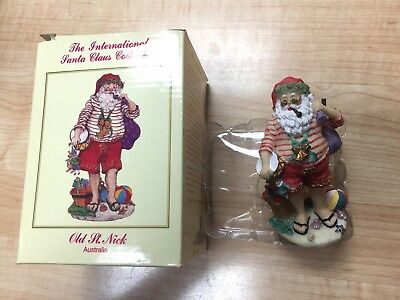 The International Santa Claus Collection Old Saint Nick Austria w/ box