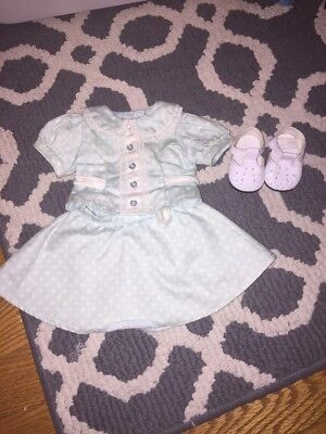American Girl Molly's Polka Dot Outfit Dress Retired