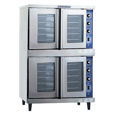 Cyclone Convection Oven, full-size, gas, double deck, Bakers Pride GDCO-G2