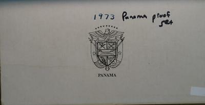 Uncirculated 1973 Panama Proof Set Free S/H