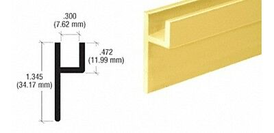 Brite Gold Anodized Base Channel