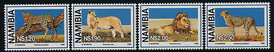 Namibia 878-81 MNH Wild Cats, Leopard, Lion