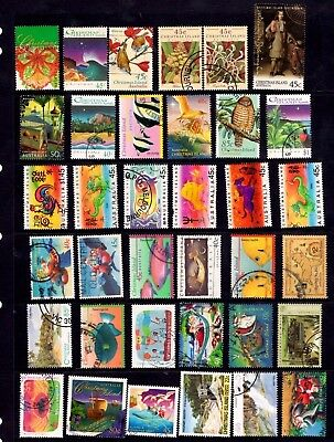 Christmas Island - 71 different stamps, nice used collection (14Y)