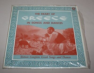 Heart of Greece in 16 Songs and Dances 33 1/3 Record Album Thomakos Colonial 128