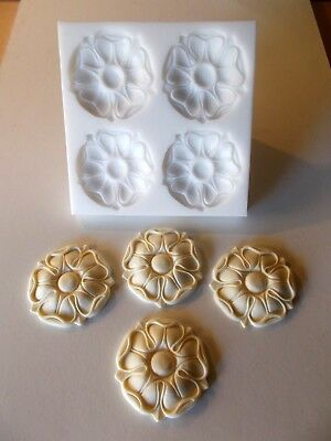 Tudor Rose Silicone Rubber Mould  Furniture Mouldings Fireplace Mouldings