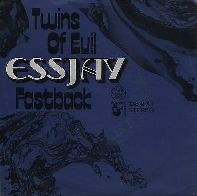 "ESSJAY: Twins Of Evil (´71 / scarce orig. German HANSA 7"")"