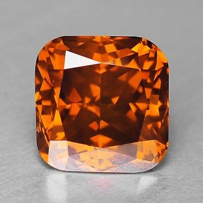 1.74 Cts FANCY TOP SPARKLING QUALITY ORANGE RED COLOR NATURAL DIAMONDS- VS2