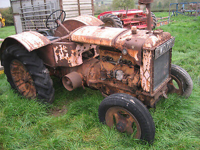 allis chalmers model u vintage tractor barn find