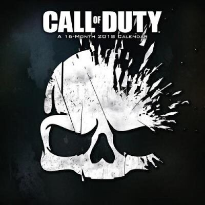 Call Of Duty Official 2018 Calendar - Square Wall Format 9781785493409