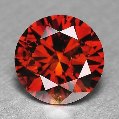 1.02 Cts FANCY EXCELLENT RARE FIERY RED COLOR NATURAL LOOSE DIAMONDS