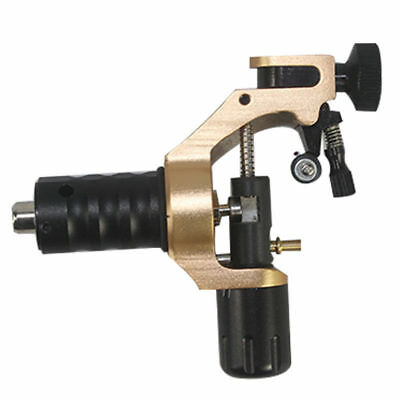 Alu Rotary Tattoomaschine Profi Gun Adjustable Shader Liner Tattoo Machine gold