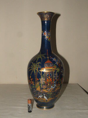Carlton Ware Art Deco Persian Amazing Large Vase So Rare & Stunning