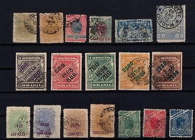 P43340/ Brésil / Brazil / Lot 1890 - 1906 Obl / Used 142 €