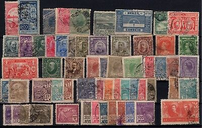 P43343/ Brésil / Brazil / Lot 1900 - 1922 Obl / Used 117 €