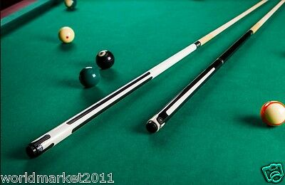 Simple British-Style Sporting Goods Length 149cm Maple Smooth Billiard Cue&$