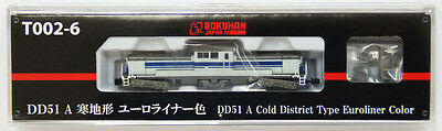 Rokuhan T002-6 Z Scale Locomotive Type DD51 A Cold District Euroliner Color NZA