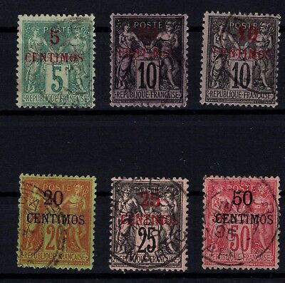 P43361/ Maroc Français / French Morocco / Maury # 1 / 5 – 11 Obl / Used 140 €