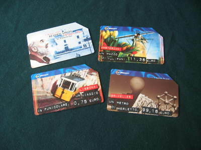 Telecom Italia x 4 European Cities Phone Cards